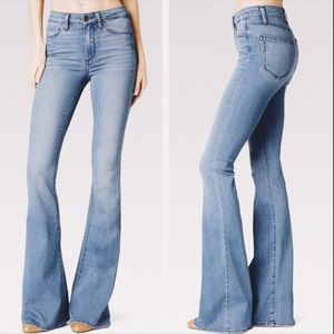 PAIGE High Rise Bell Canyon Flare Jeans sz 27